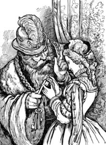 Public Domain File:Blue Beard in Tales of Mother Goose